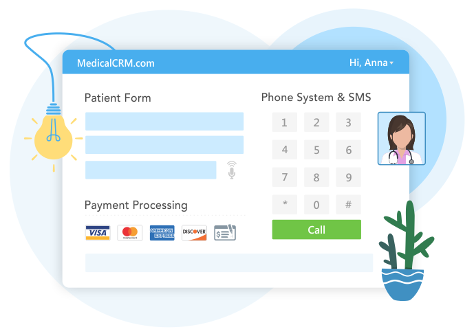 MedicalCRM Features