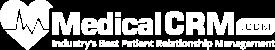 MedicalCRM White Logo